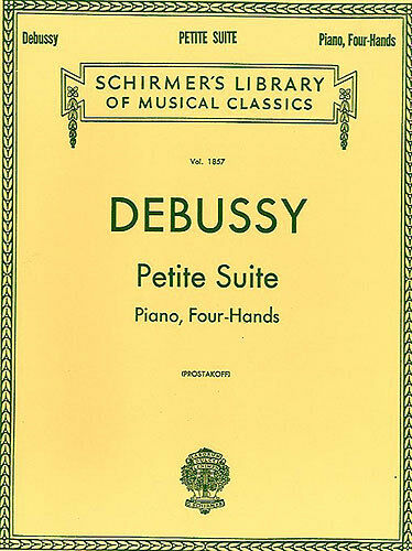 DEBUSSY petite suite pour un piano à quatre mains apprendre à jouer de la musique classique livre