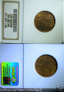 Canada 1911 NGC MS65  Large Cent