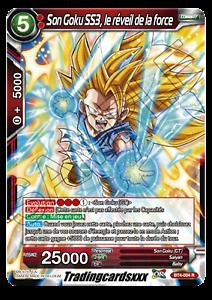 BT4-004 R ♦Dragon Ball Super♦ Son Goku SS3 VF le réveil de la force