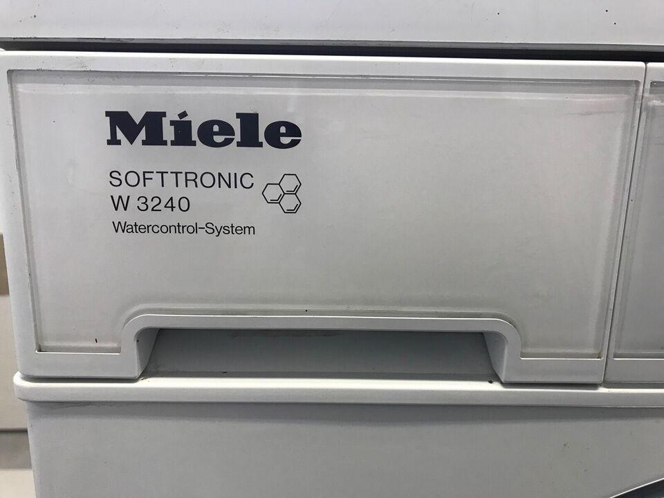 Miele vaskemaskine, Softtronic W3240, frontbetjent