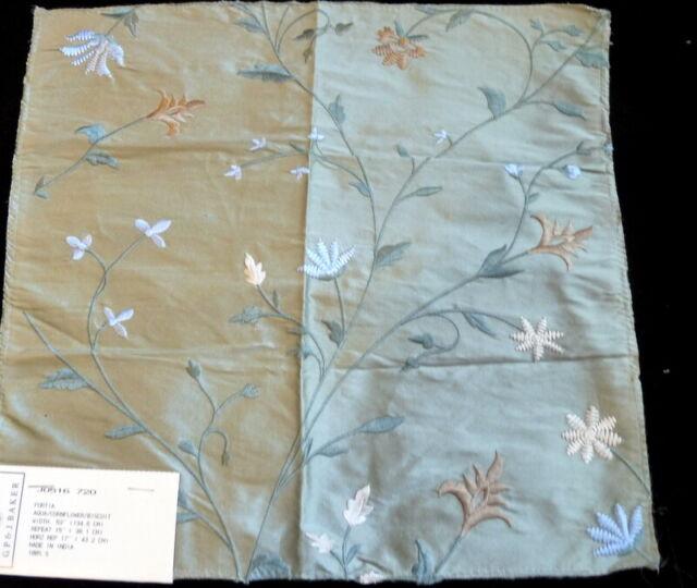 Lee Jofa Gp J Baker Silk Fabric Remnant