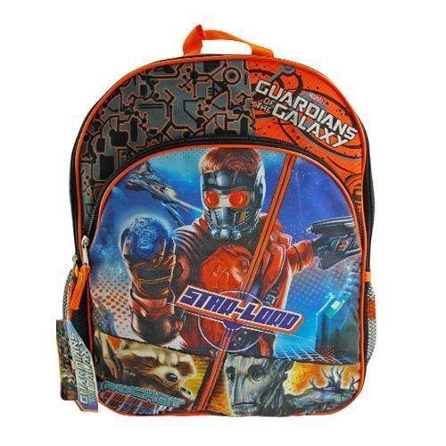 "Schoolbag Guardians Of The Galaxy 16/"" Large Back Pack Rucksack UK SELLER"