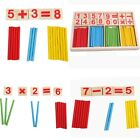 Wooden Montessori Mathematics Material Early Learning Counting Kids Toy UU
