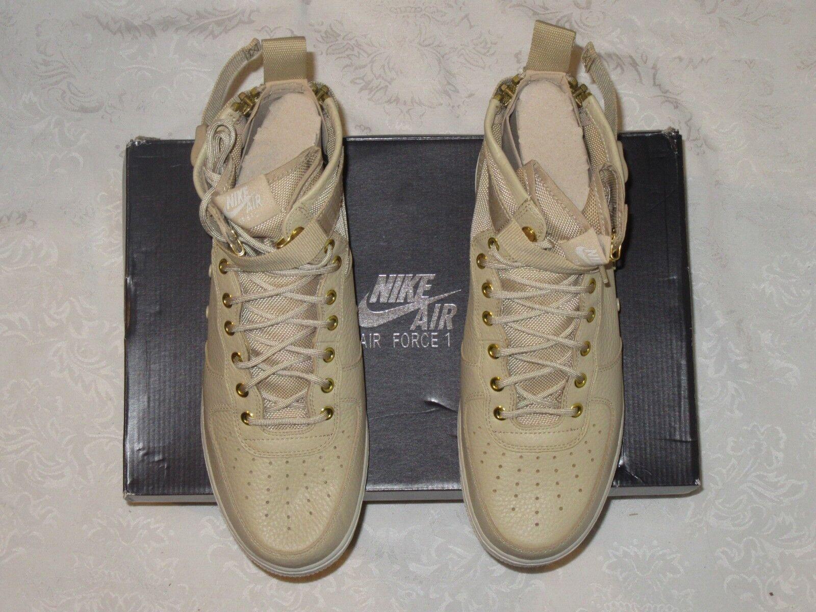 Nike SF AF1 Mid Air Force 1 Mushroom 917753 200 Men's US Size 11 Sneakers
