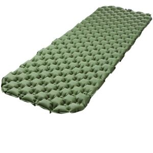 Ultralight Inflatable Sleeping Mat Camping Air Pad Roll Bed Mattress Pad