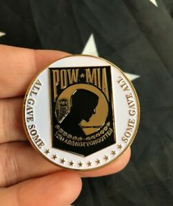 Details about BRING THEM HOME POW MIA Dog Tags DOD Challenge Coin