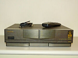 Panasonic NV-HS1000 High-End S-VHS Videorecorder mit FB, 2 Jahre Garantie