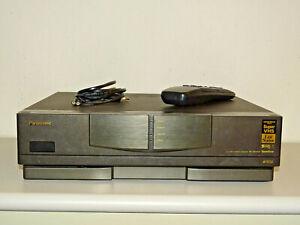 Panasonic NV-HS1000 High-End S-VHS Videorecorder mit FB, 2 Jahre Garantie