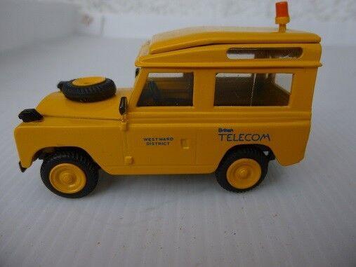 RX 202 Landrover 90 BT yellow 'Westward District' handbuilt Roxley VAT included