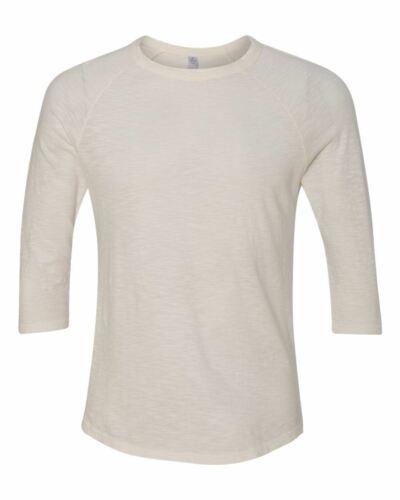 Alternative Washed Slub Baseball T-Shirt 32410