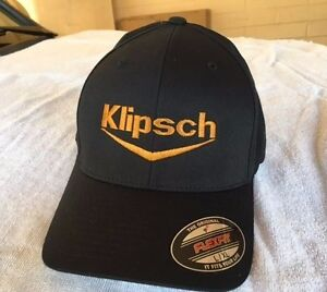 9085a62b Image is loading Klipsch-Audio-Speakers-Logo-Embroidered-Flexfit-Ball-Cap-