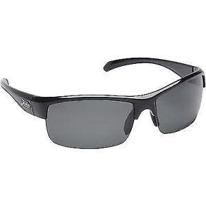 09f368049e Hobie Rockpile Sunglasses Shiny Black Polarized Frame Gray Lens Active  Everyday
