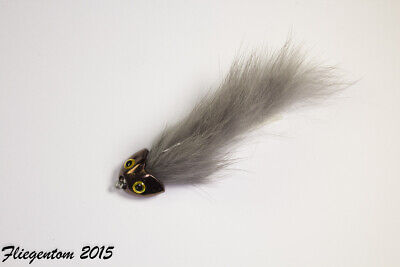 Fliegentom 3 piece Dry Fly Brown PALMER-Brown Palmer