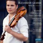 Violinkonzerte/Carmen Fantasie von Alexander Gilman (2012)