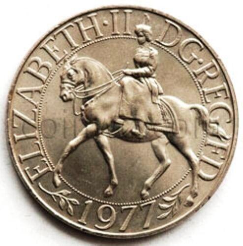 United Kingdom 1 Crown 1977 25 year of reign #2155