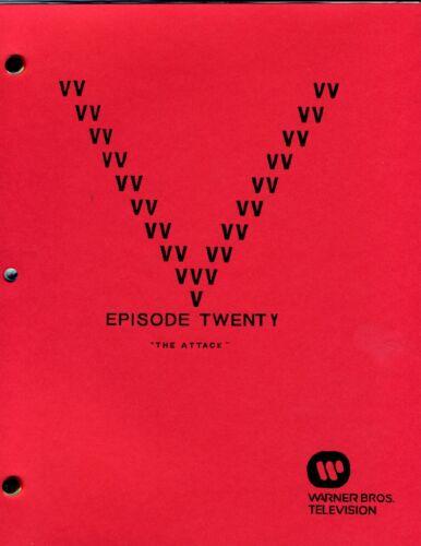 """Episode Twenty First Draft -  /""""The Attack/"""" 20 V Visitor Script"""