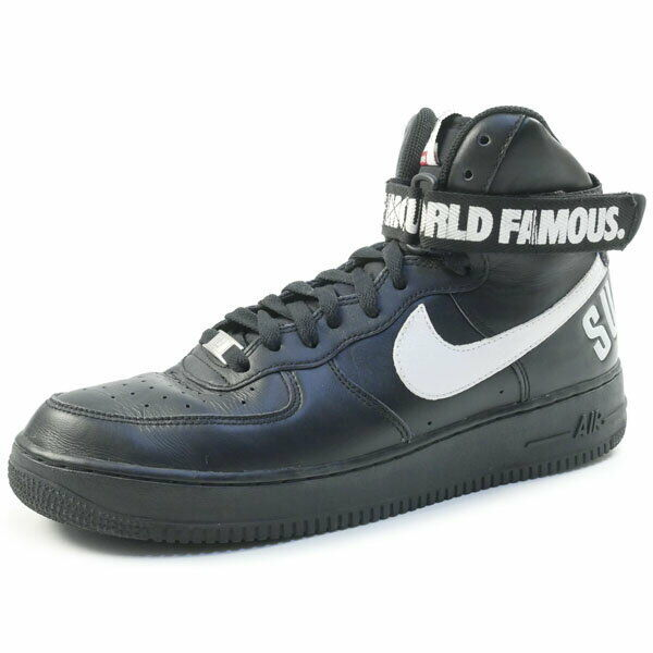 SUPREME NIKE 14AW AIR FORCE 1 HIGH SP 698696010 sneakers Size28.0cm (K19200