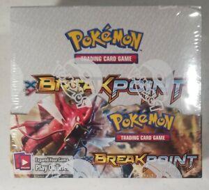 36 Packs Pokemon XY BREAKpoint Booster Box