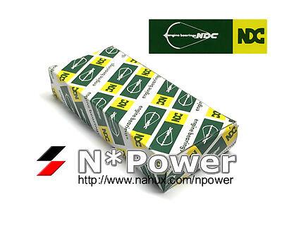 NDC MAIN BEARING SET STD FOR Daihatsu HD-E 1.6L SOHC Applause A101 1989-2000