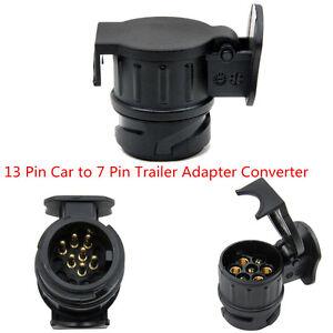 13 pin socket car to 7 pin trailer adapter converter car trailer, Wiring diagram