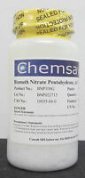 Bismuth Nitrate Pentahydrate, Acs, 98+%, 100g