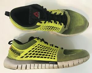 b19dbbf2c3166f Image is loading Reebok-Zquick-Electrify-Mens-Crossfit-Running-Shoes-Size-