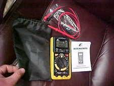 ETEK ITEM Model 10709 DIGITAL MUTIMETER tester EXCELLENT with case & manual