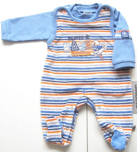 Strampler Set Gr.50 56 62 Jacky NEU Biber blau Shirt velour nicki baby newborn