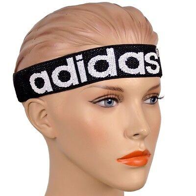 Adidas Headband Damen Stirnband Kopfband Schweißband Logo Haarband Schwarz/weiß Kunden Zuerst