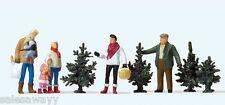 Preiser 10627 Weihnachtsbaumverkauf, H0