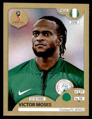 Nigeria Panini WM 2018 World Cup Russia Sticker 347 Victor Moses
