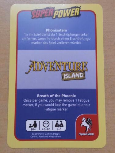 """Minierweiterung Super Power für """"Adventure Island/"""""""