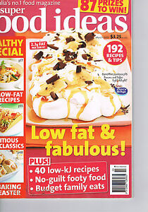 SUPER FOOD IDEAS - Issue 90 - March 2008