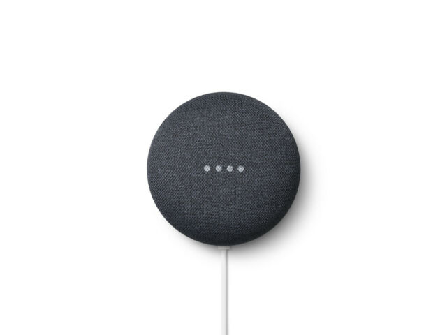 Assistente virtuale GOOGLE - Nest Mini 2 Nero