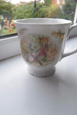 Royal Albert Jemima Puddleduck Mug Beatrix Potter 1986 Bone China British