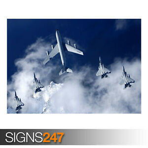 EAGLES-SQUAD-REFUELING-AE906-Photo-Picture-Poster-Print-Art-A0-A1-A2-A3-A4