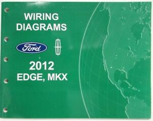2012 Ford Edge and Lincoln MKX Electrical Wiring Diagrams Manual   eBay   2012 Ford Edge Starting Wiring Diagram      eBay