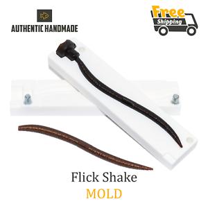 Bait Mold Jackall Flick Shake Worm Angeln Weiche Kunststoff Locken 122 mm