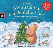 Weihnachten bei Paulchen Bär: 24 Geschichten zur Weihnachtszeit - CD