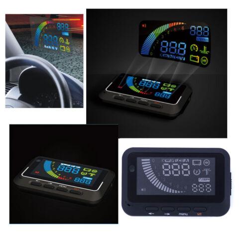 Car Safe Driving Overspeed Warning Universal OBDII HUD Head Up Display System UK
