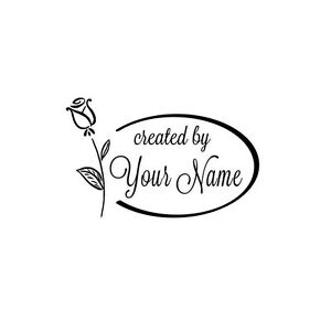 PERSONALIZED-CUSTOM-NAME-HANDMADE-RUBBER-STAMPS-HANDLE-MOUNTED-C77