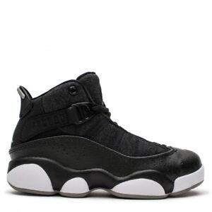 4e55cbddd76 Nike JORDAN 6 RINGS (PS) NEW AUTHENTIC Black Silver White 323432-021 ...