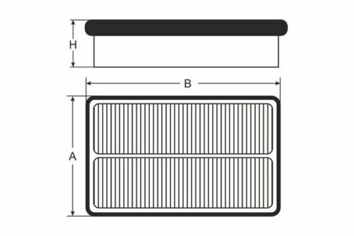 1.2 1.4i SB2264 Air Filter for HONDA Jazz III GE