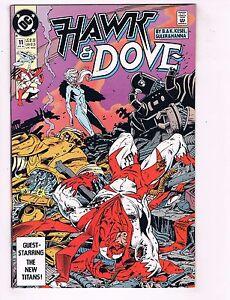 Lot-Of-10-Hawk-amp-Dove-DC-Comic-Books-11-12-13-14-15-16-17-18-19-20-VF-NM-J57