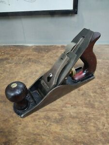 Vintage STANLEY BAILEY No. 3 Plane Early  Woodworking Cabinetry Hand Plane