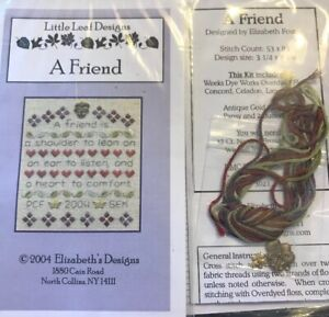 A-Friend-Shoulder-to-Lean-On-Cross-Stitch-Little-Leaf-Elizabeth-s-Designs-Charm