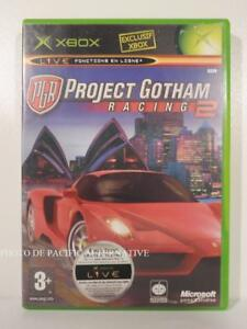 jeu-PGR-PROJECT-GOTHAM-RACING-2-pour-XBOX-first-gen-en-francais-spiel-COMPLET