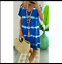 Summer-Dresses-Loose-for-Women-Casual-Beach-Ladies-Plus-Size-Midi-V-neck-Soho thumbnail 20