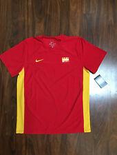 Rafa Rafael Nadal Nike Mens Davis Cup Team Tennis Shirt Large New NWT Rare Vamos