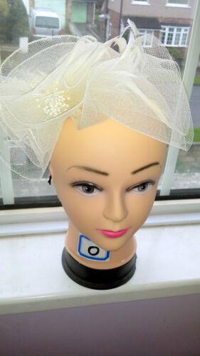 Joblot 12 pcs feather /& sinamay cheveux à nouveau sur bandeau wholesale lot o